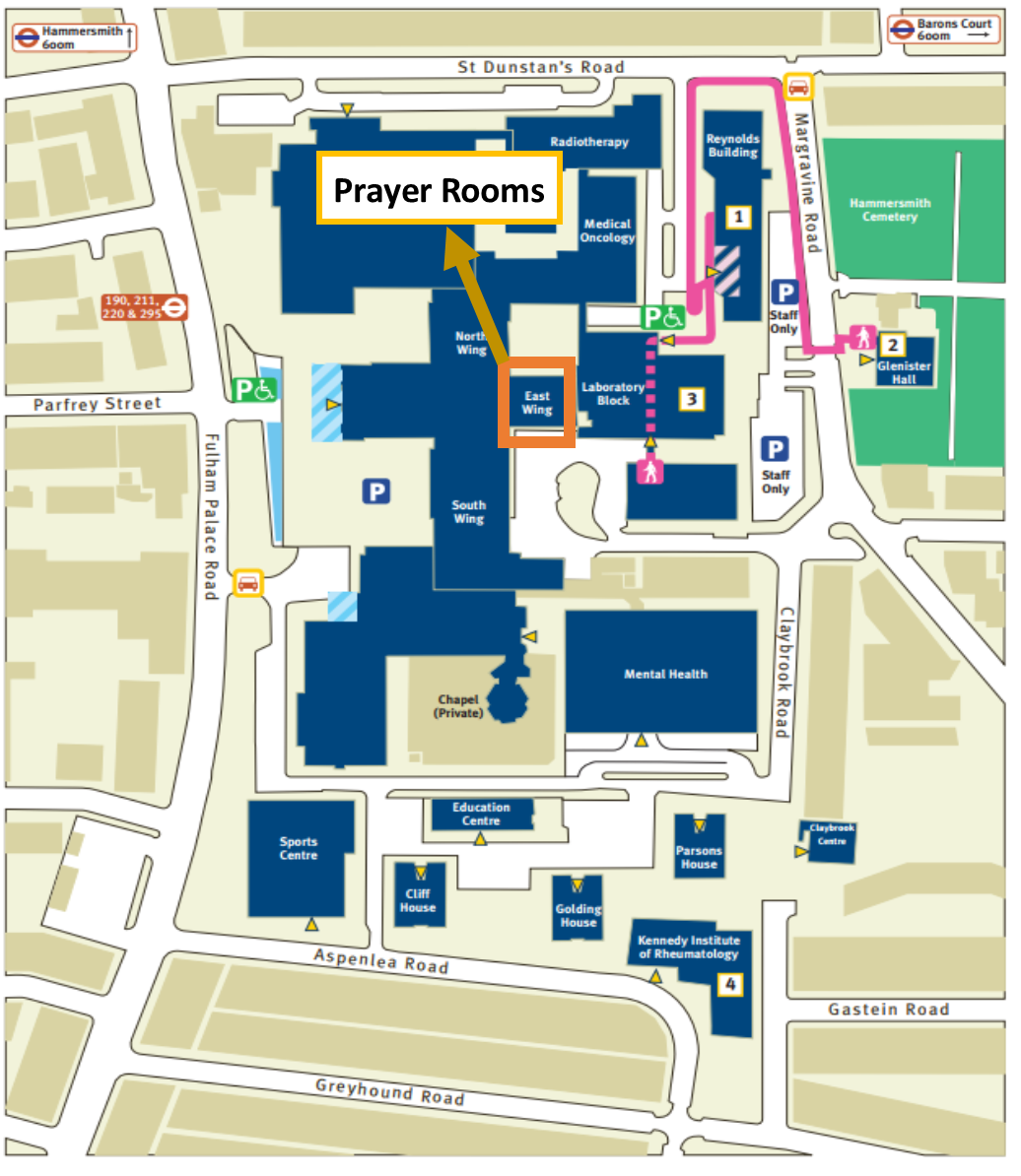 Campus Map The Isoc